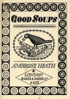 Edward Bawden, Ambrose Heath & 1935 cookery: there are few more encouraging combinations.