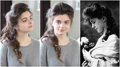 """Today's episode is all about the world's first supermodel Evelyn Nesbit, one of the real-life Gibson Girls, whose involvement in the controversial """"trial of . Evelyn Nesbit, Edwardian Hairstyles, Bride Hairstyles, Trendy Hairstyles, School Hairstyles, Updo Hairstyle, Weave Hairstyles, Belle Epoque, La Fille Gibson"""