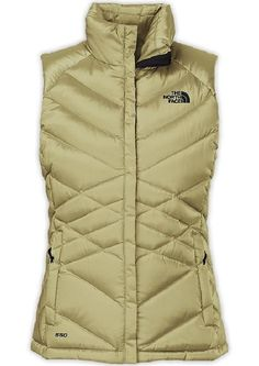 North Face Women's Aconcagua Vest in Gold
