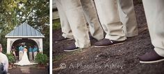 @TOMS  Groomsmen Toms Wedding Shoes - A Photo by Ashley {Ashley Turner} Vintage Rustic Wedding | Winston-Salem, North Carolina Wedding Photographer | One Way Antiques, King NC