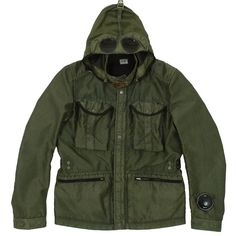 C.P. Company Bellow Pocket Goggle Jacket