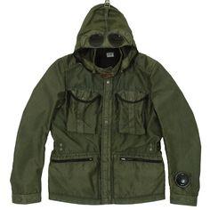 C.P. Company Bellow Pocket Goggle Jacket