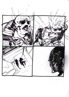 Ashley Wood: Metal Gear Solid Comic Art