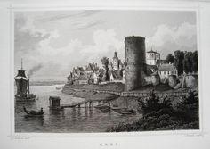 Rees Niederrhein Rhein echter alter seltener Stahlstich 1850 • 29.90 EUR • PicClick DE