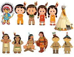 Native American, Indian, Thanksgiving Image, Tepee Cutout,Large Digital…
