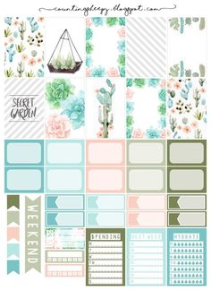 888 Best Free Planner Stickers images in 2019 | Free planner