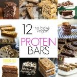 12 No-Bake Vegan Protein Bars