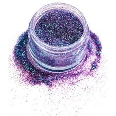 In Your Dreams Purple Dragon Cosmetic Glitter ($10) ❤ liked on Polyvore featuring beauty products and makeup