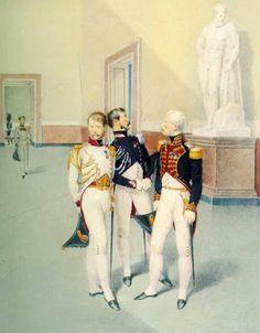 Ufficiali della Guardia Reale