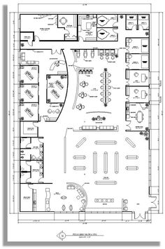 spa floor plan:
