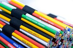 Six Thinking Hats Pencils for critical thinking activities...