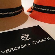 Veronika Cugura Felt Collection #design #felt #hat #creativity #designer