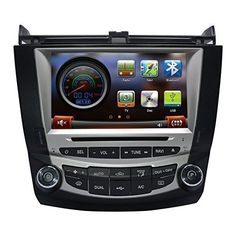 Special Offers - CarSong 8 inch HD Car DVD Player With GPS Navigation For 2003-2007 Honda Accord Dual Zone Double Din In Dash Multimedia Audio Stereo Video System Support Bluetooth iPOD USB SD RDS FM AM Touch Screen - In stock & Free Shipping. You can save more money! Check It (November 26 2016 at 02:51PM)…