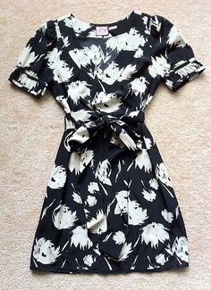 Juicy Couture Silk Floral Dress