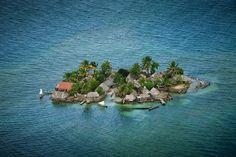 Kuna settlement, Panama. Source: YannArthusBertrand.org