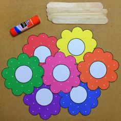 Circle Time Flower Colors For Preschool and Kindergarten