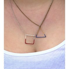 Ruby Sapphire Steven Universe Inspired Minimalist Cosplay Gem Necklace ($18) ❤ liked on Polyvore featuring jewelry, necklaces, gemstone jewelry, ruby jewelry, gemstone jewellery, ruby jewellery and ruby gemstone jewelry