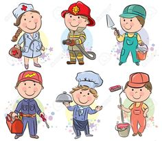 Art Print of Professions kids set Contains transparent objects. Search 33 Million Art Prints, Posters, and Canvas Wall Art Pieces at Barewalls. Drawing For Kids, Art For Kids, Kids Background, School Clipart, Cartoon Sketches, Beach Kids, Wedding With Kids, Preschool Art, Elementary Art