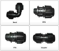 Compressor Fitting For HDPE PIPES