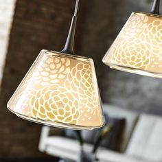 Japanese textiledesigner Rika Kawato made these beautiful patterns for the Le Klint Undercover lamps, designed by Philip Bro. #philipbrodesign #newnordic #lamp #outdoorlamp #danishdesign #nordicdesignl #leklint #undercover #rikakawato #philipbro #philipbroludvigsen