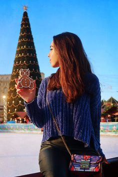 Christmas mood winter fashion outfit