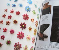 Bead Embroidery Stitch Samples & Motifs The book is packed with fun and colorful samples, and accented with several instances of how the various stitch samples can be put to use on clothing and made items…