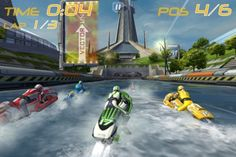 iPhone iPad Rennspiele Apps Kinder Riptide GP