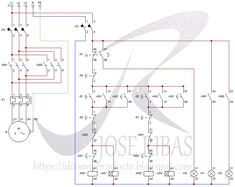 diagram motor control wiring 94 acura integra stereo forward reverse 3 phase ac star delta inversion automatica de trifasico disseny producte