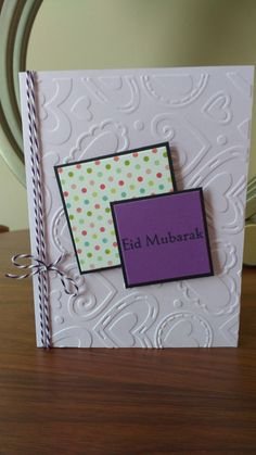 Hearts and Dots (Set of 10 Eid Cards) by ArtByAdetta on Etsy