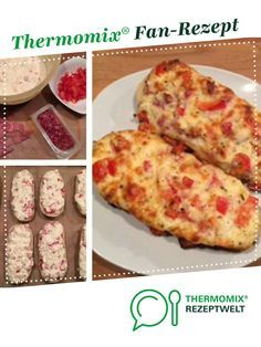 Aufstrich zum Überbacken von Baguette oder Brötchen Spread for gratinating baguette or rolls by Susan Ne. A Thermomix ® recipe from the Baking category www.de, the Thermomix® Community. Sandwich Recipes, Pizza Recipes, Seafood Recipes, Snack Recipes, Cooking Recipes, Pizza Snacks, French Toast Bake, French Toast Casserole, Pain Perdu Simple