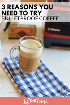 If you are missing those lattes and want to remain with your low carbohydrate diet, bulletproof coffee may be just the drink to get you going in the morning.