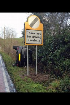Thank you for driving carefully :)