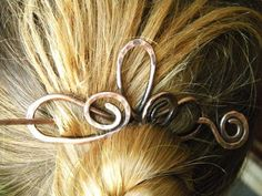 Hair Clip, Hair Stick, Hair Accessories, Hair Comb, Copper Jewelry