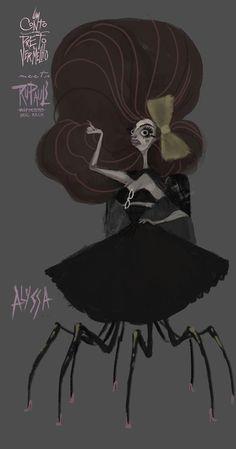 Alyssa, from Um Conto em Preto e Vermelho