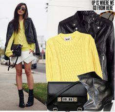 """Bloggers Style: Neon Blush"" by nastyaafanasova ❤ liked on Polyvore"