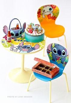 Stitch Re-ment Cafe Set