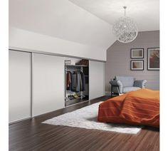 Image result for sliding wardrobe in attic