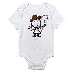 Girl & Western Infant Bodysuit baby onesie