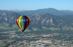 Hot Air Balloon Ride Specials & Rates in Colorado. Serving Denver, Boulder, & Estes Park, Ballooning by Fair Winds Hot Air Balloon Flights. Le Colorado, Estes Park Colorado, Colorado Springs, Air Balloon Rides, Hot Air Balloon, Aspen, Ski, Balloon Flights, Air Ballon
