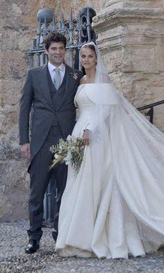 Lady Charlotte Wellesley and Alejandro Santo Domingo marry in lavish Spanish wedding - HELLO! US