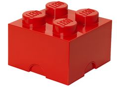 Create life-sized LEGO® furniture to store your bricks, minifigures and more with the stackable, 4-stud LEGO Storage Brick!
