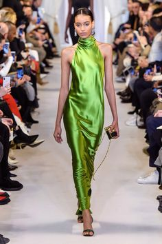 Brandon Maxwell Fall 2019 Ready-to-Wear Fashion Show - Vogue Haute Couture Style, Couture Mode, Couture Fashion, Runway Fashion, High Fashion, Fashion Show, Fashion Trends, Fall Fashion, Trendy Fashion