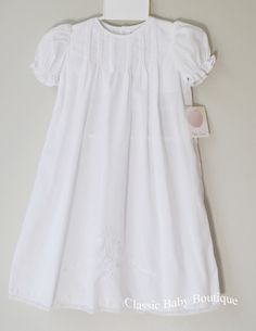 Reborn//Baby Girl Satin Christening Gown Baptism Dress  Size  0-3 3-6 6-12 M