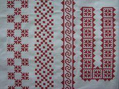 Folk Embroidery, Beaded Embroidery, Cross Stitch Embroidery, Modern Cross Stitch, Cross Stitch Designs, Cross Stitch Patterns, Pixel Art, Bohemian Rug, Artsy