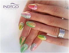 by Indigo Nails Romania, Follow us on Pinterest. Find more inspiration at www.indigo-nails.com #nailart #nails #indigo #syrenka