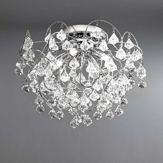 Layla Droplet Four Light Fitting | Dunelm