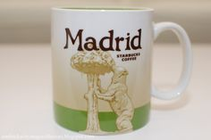 Starbucks City Mug Madrid