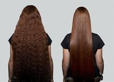 Before & After using Silk Oil of Morocco Argan Hair Care. Want results? Try Silk... www.silkoilofmorocco.com #arganoil #haircare #treatment #repair #hair #moisture #hydration #sleek #shiny #longhair #before #after #results