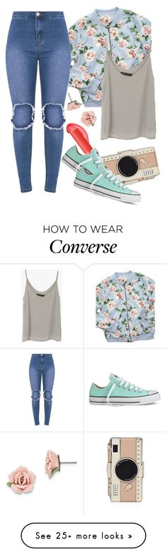 """""""Basic Girl#6"""" by cfull on Polyvore featuring 1928, Kate Spade and Converse"""
