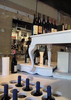 Creativity flows like wine here...